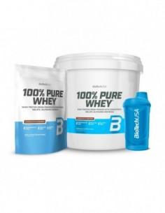 OFERTA 100% Pure Whey 4KG +...